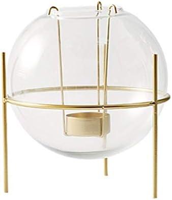 AJJZX 燭台、ガラスのキャンドルスティックホルダー - Buringキャンドル、テーパーキャンドル、パーティーや結婚式のため