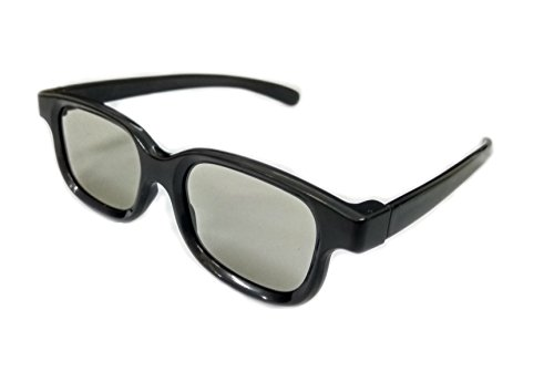 RealD Technology 3D Polarized Glasses for TV/Movies/Cinema/HD
