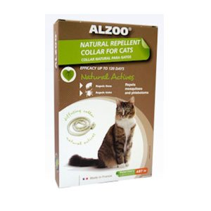 ALZOO Natural Repellent Flea & Tick Collar for Cats 1-oz box 1-count