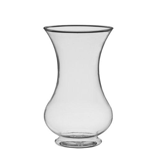 Syndicate Sales BURTON-881209 Pedestal Glass vase, 8 1/2