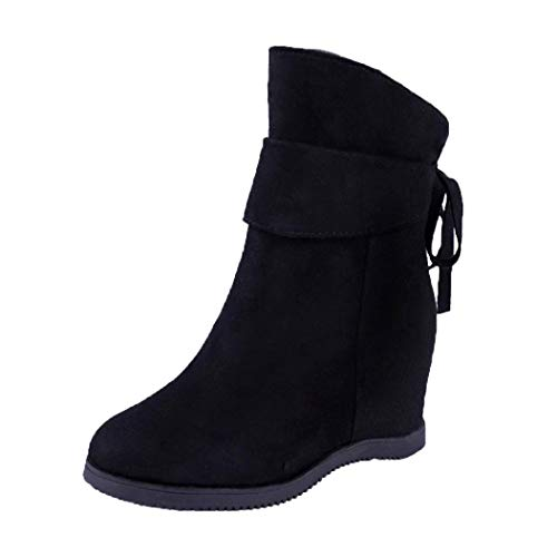 Heels Schuhe Platform Blockabsatz für Schwarz Mode Freizeit Glitzer High Lack Heel Plateaustiefel Damen Soft Schuhe Thick Damen Party Elegant in Malloom Vergrößern Bootssandaletten zqwz8FRd