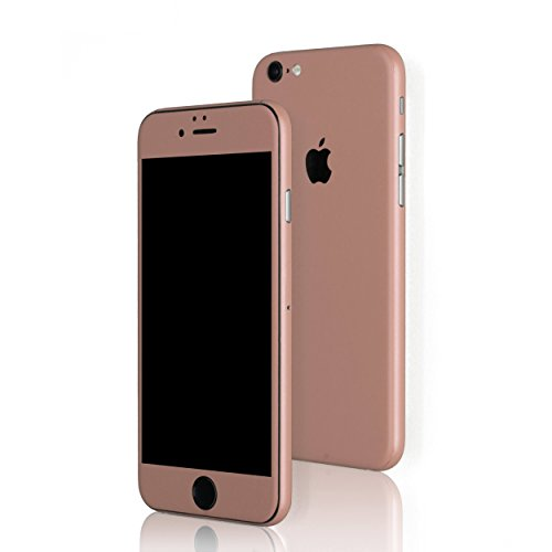AppSkins Folien-Set iPhone 6s Full Cover - Color Edition Rosé Gold