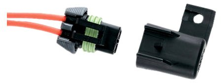 Ancor 607021 Marine Grade Electrical Waterproof in-Line Fuse Holder (ATM, 16-Gauge, 15-Amp)