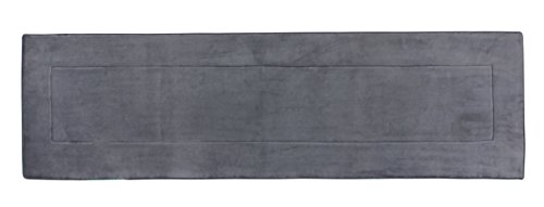 Fabbrica Home Ultra-Soft HD Memory Foam Runner (2 ft x 7.5 ft, Gray) by Fabbrica Home (Image #7)