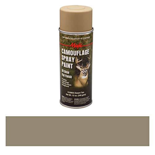 Majic Paints 8-20855-8 Camouflage Spray Paint, Aerosol, Desert Tan (Based Aerosol)