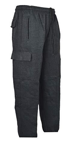 Clothing Unit Mens Elasticated Waist Cargo Jogging Jogger Trousers