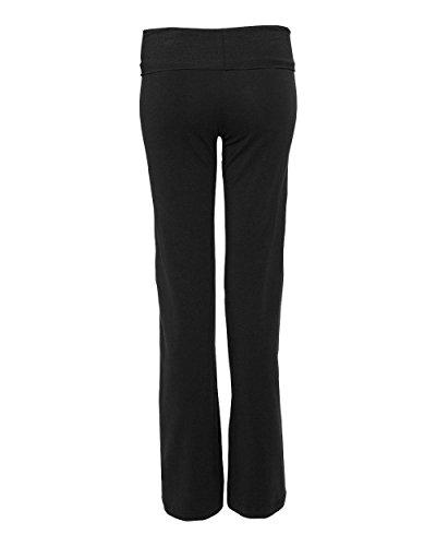 Con spandex Yoga Pantaloni S16 In nbsp; Boxercraft Risvolto Cotone Vita qE7vw8SWd