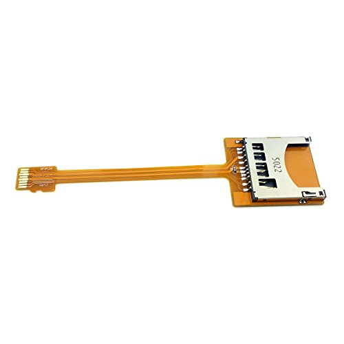 CY 10cm Soft Flat Micro SD TF Memory Card Kit Male to SD Female Extending FPC Cable