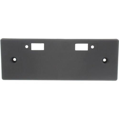 Make Auto Parts Manufacturing - ROGUE 14-16 FRONT LICENSE PLATE BRACKET, Textured Black, (Korea 15-16)/USA Built - NI1068117