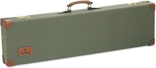 Browning  Canvas Leather Case, Over/Under,Olive/Green