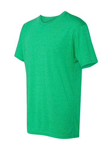 T-shirt Crew Relaxed Love (Next Level 6010 Men's Tri-Blend Crew Tee - Medium - Envy)