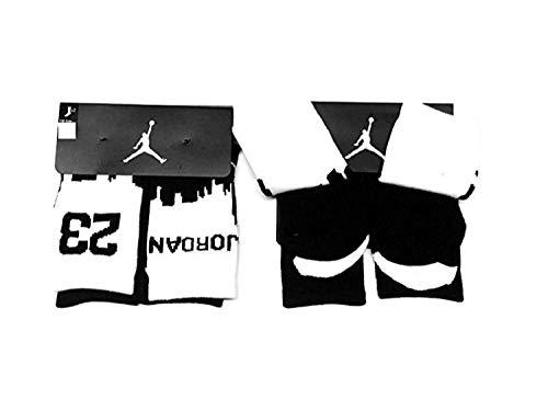 - NIKE Kids Jordan Two-Tone 2-Pack High Crew Socks 5Y-7Y