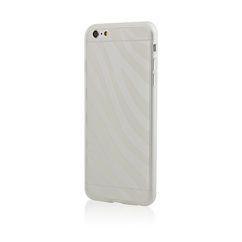 BlingMyThing Ayano Expression Collection Zebra Schutzhülle für Apple iPhone 6 Plus transparent