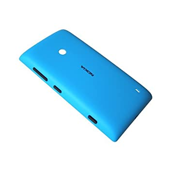 best sneakers ca580 5036a Original Blue Back Cover for Nokia Lumia 520: Amazon.co.uk: Electronics