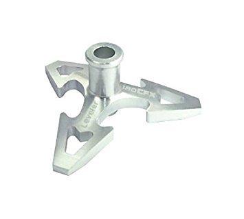 CNC Aluminum Swashplate Leveler, Silver: 180 CFX