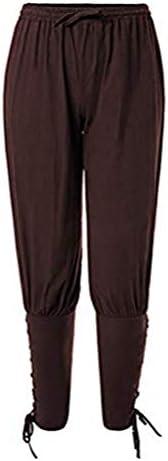 JoyeArt Men`s Spring Summer Autumn Ankle Banded Pants Medieval Viking Navigator Trousers Renaissance Pants