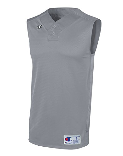 Champion Double Dry Sleeveless (Champion Men`s and Youth Prospect Baseball Double Dry Sleeveless Henley)