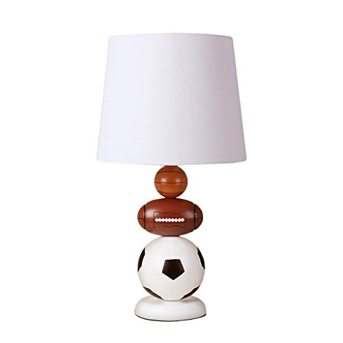 Soccer Decorative Table Lamp Modern Simple Bedside Lamp Creative Dimming Small Table Lamp Home Decorations by Crystal