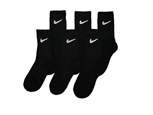 5-7 Sock Size Nike Little Boy/'s 6-Pairs Young Athletes Crew Socks Size 10C-3Y