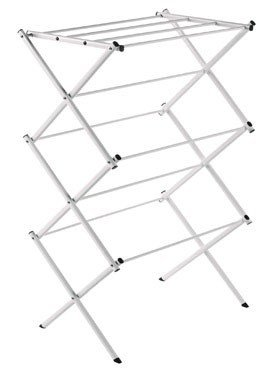 "Polder Standing Accordion Dryer Rack 22.75"" X 14.75"" Steel W"