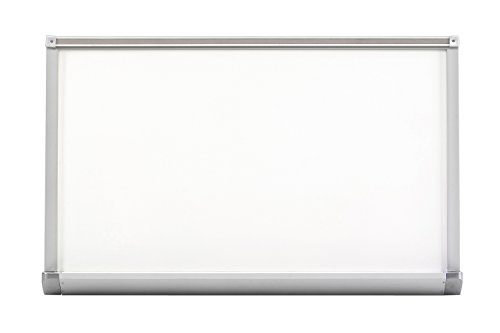 Offex Porcelain Markerboard with Standard Aluminum Trim 48