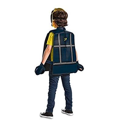 Disguise Rex Dangervest LEGO Movie 2 Basic Boys' Costume: Toys & Games