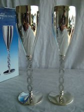 Godinger Silver Plated Plates (Godinger Silver Plated Millennium Champagne Goblet Set of 2)