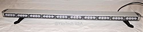 "Yantech 50"" Amber Clear Super Bright LED Light Bar"