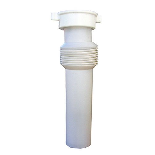 LASCO Plumbing Repair 03-4317 White Plastic Tubular with Nut And Washer