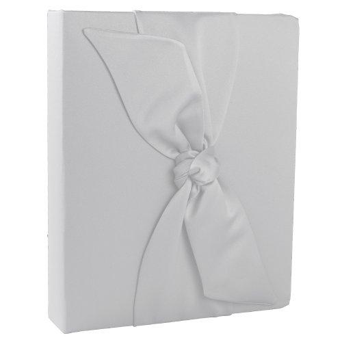 Ivy Lane Design Love Knot Wedding Memory Book, White