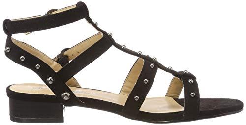 noir Divine Alla Sandali Donna The Cinturino Con Caviglia Marica Nero Factory 001 p4Rnwqn1Av