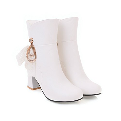 Balamasaabl09576 - Sandales Compensées Pour Femmes, Blanc (blanc), 35 Eu