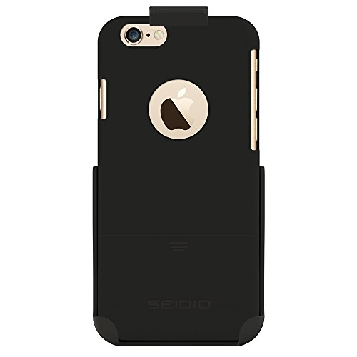 Seidio SURFACE Reveal Case & Belt-Clip Holster for iPhone 6 ONLY [Slim Protection] - Retail Packaging - -