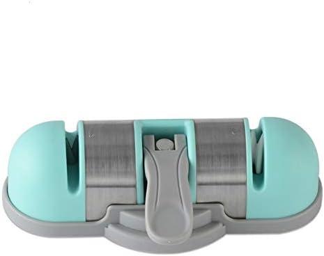 キッチンサクションカップシャープナー多機能家庭用シャープツールタングステン鋼クイックシャープナー