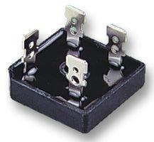 Wave Silicone (NTE Electronics NTE53018 Silicon Bridge Rectifier, Full Wave, Single Phase, Low Profile Epoxy Case, 50 Amps Maximum Output Current, 600V Maximum Recurrent Peak Reverse Voltage)