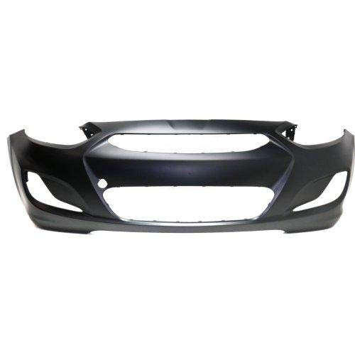 Go-Parts OE Replacement for 2014-2016 Hyundai Accent Front Bumper Cover 86511-1R010 HY1000201