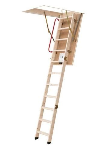 Wooden Timber Loft Ladder 550 x 1130mm DOLLE