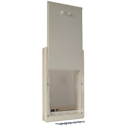 Ideal Pet Products 7-by-11.25-Inch Medium Original Pet Door with Telescoping Frame