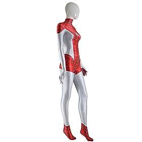 - 31f5sVxJYoL - Mary Jane Spider Costume Girl Spider zentai costume Mj Woman Superhero Cosplay Costume