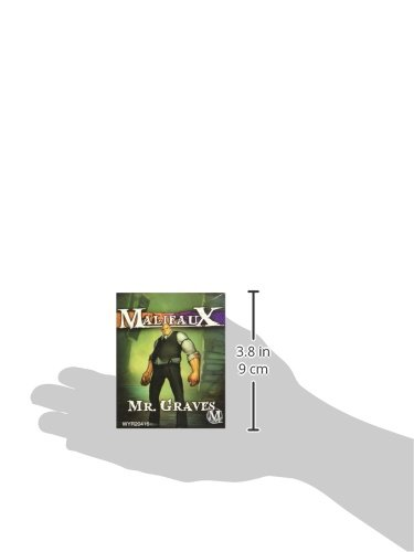 Wyrd Miniatures Malifaux Neverborn Mr. Graves Model Kit 5