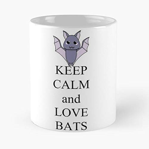 Bat Cute Mammal Animal - Coffee Mugs Ceramic Best -