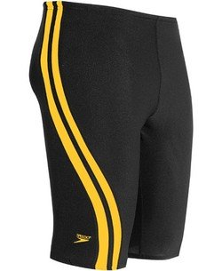 Speedo Quantum Splice Male Jammer - Youth (22-24 Only),Black/Gold,22