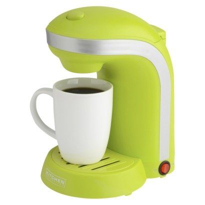 the scoop one cup coffee maker