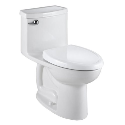American Standard 2403.813.020 Compact Cadet 3 Flowise One Piece Toilet with Right Hand Trip Lever, White