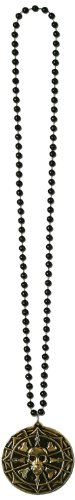 [Beistle 50270 Decorative Beads with Pirate Coin Medallion, 36-Inch] (Cool Pirate Costumes)