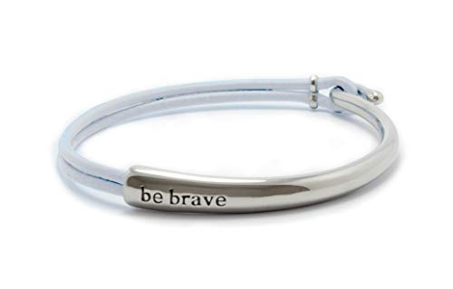 - Bravelets Original Leather (Pearl White)