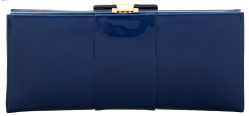 Roger Vivier Clutch Blau Rog002