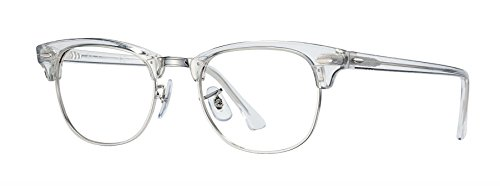 Eyeglasses Ray-Ban Optical RX 5154 2001 WHITE - Clubmaster White Ban Ray