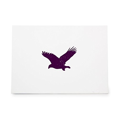 Eagle Rubber Stamp - Eagle Style 1824 Rubber Stamp Shape great for Scrapbooking, Crafts, Card Making, Ink Stamping Crafts