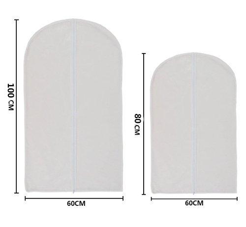 transpirables a prueba de polvo y humedad Juego de 6 fundas protectoras transparentes para ropa